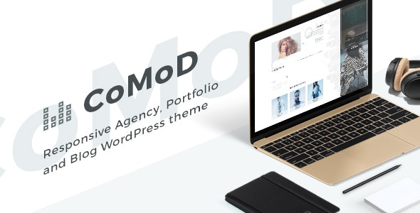 CoMoD - Creative Agency / Portfolio Theme - Portfolio Creative