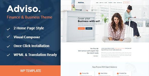 Adviso - Business WordPress Theme
