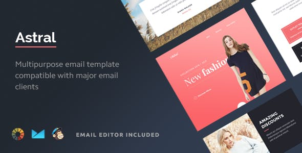 Astral - Multipurpose Email Template + Builder 2.0