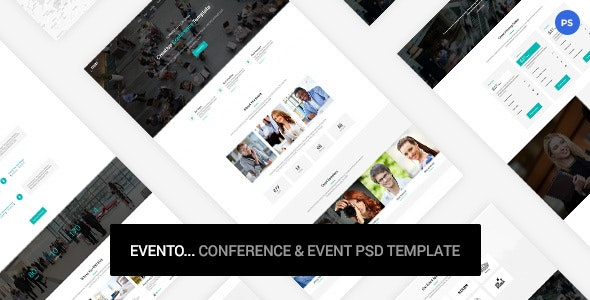 Evento - Conference & Event PSD Template - Events Entertainment
