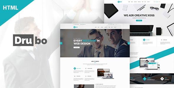 Drubo – Creative Corporate Business HTML Template