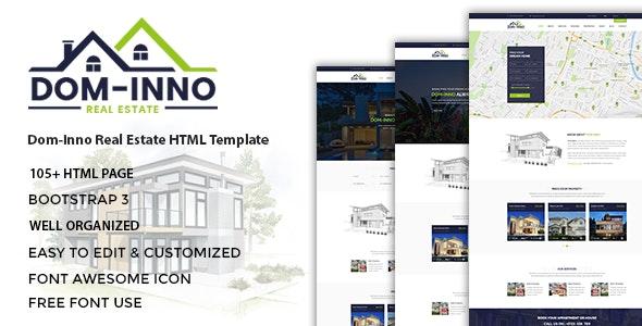 Real Estate HTML Template - Dominno - Business Corporate