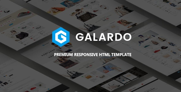 Fashion Store HTML Template - Galardo - Fashion Retail