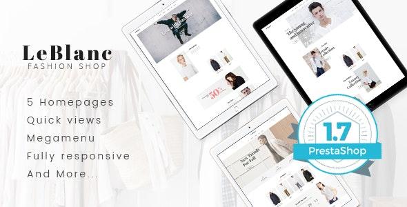 Leo Leblanc Responsive Prestashop Theme for Clothes Fashion - PrestaShop eCommerce
