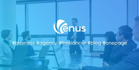 Venus   Responsive Business HTML5 Template - Business Corporate