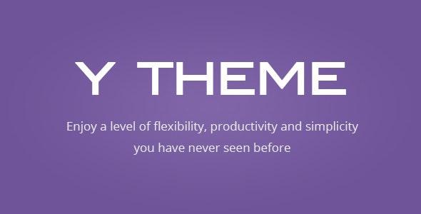 Y THEME - Flexibility And Productivity Framework - Corporate WordPress