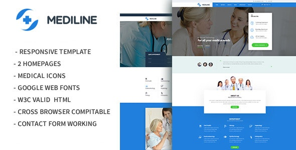 Mediline - Medical & Health HTML Template - Health & Beauty Retail