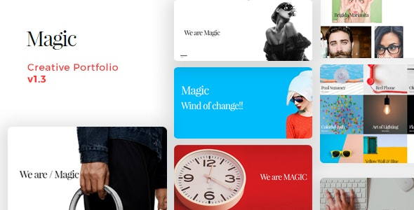 Magic - Creative Portfolio HTML Template - Portfolio Creative