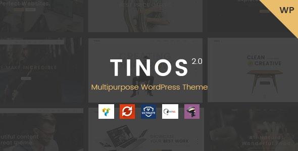 Tinos - Multipurpose WordPress Theme - Corporate WordPress