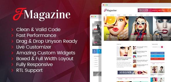 TrueMag - multipurpose magazine WordPress theme - News / Editorial Blog / Magazine