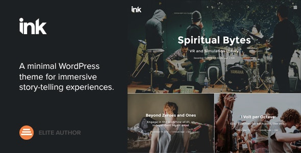 Ink — A WordPress Blogging theme to tell Stories by Codestag