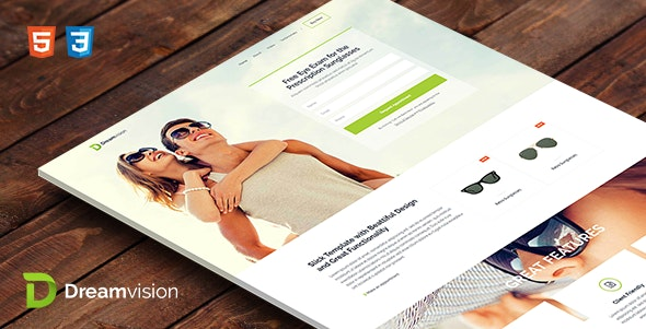 Dreamvision - HTML Template - Landing Pages Marketing