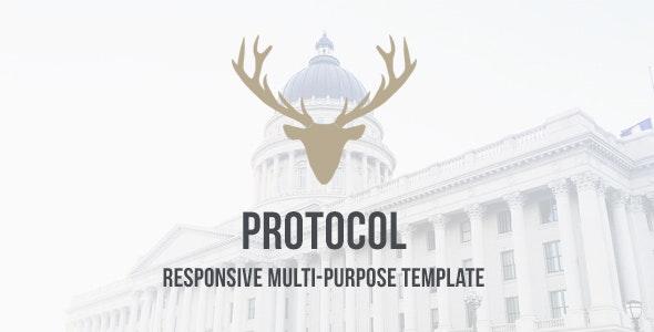 Protocol - HTML Responsive Multi-Purpose Template - Business Corporate