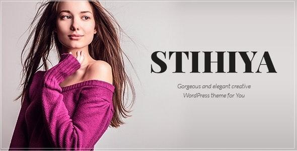 Stihiya - Photography and Portfolio Template - Photography Creative