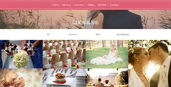 Wedding Tale - Responsive HTML Template