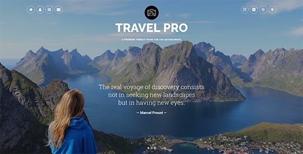 Travel Pro Tumblr Theme By Themelantic Themeforest