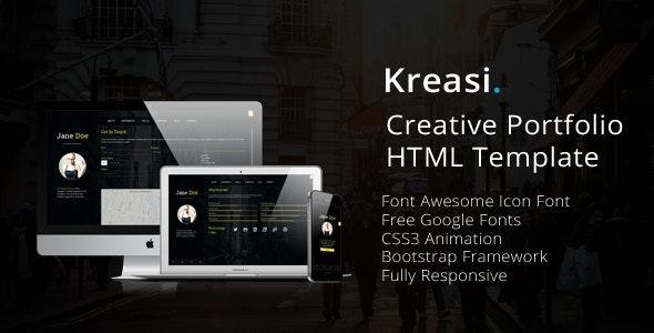 Kreasi - Creative Portfolio HTML Template - Portfolio Creative