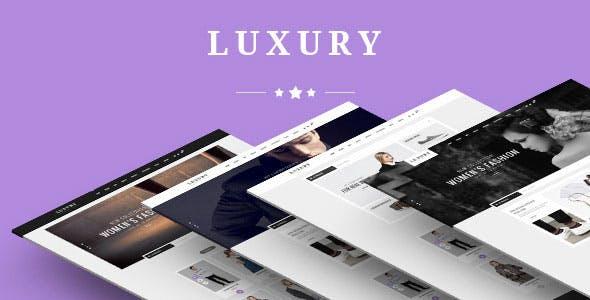 Luxury - Fashion Store HTML Template