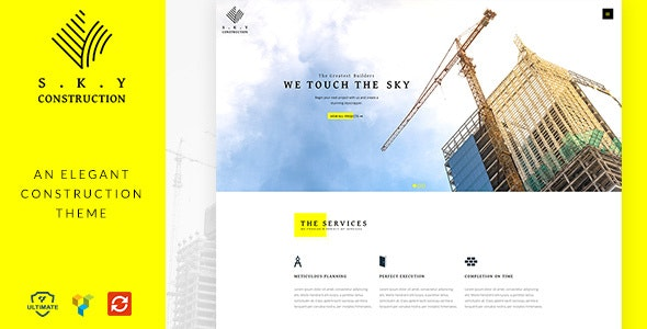Construction - Civil Engineer WordPress Theme - Business Corporate
