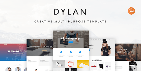 Dylan - Responsive Multi-Purpose HTML Template - Creative Site Templates