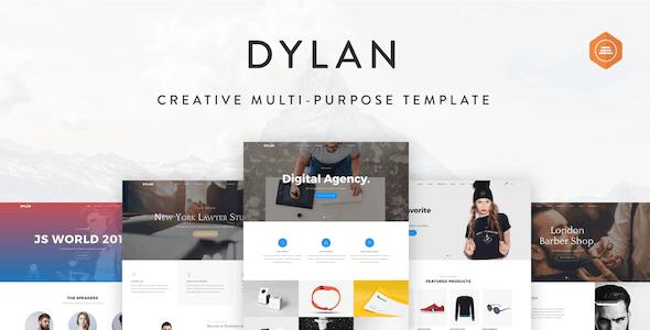 Dylan - Responsive Multi-Purpose HTML Template