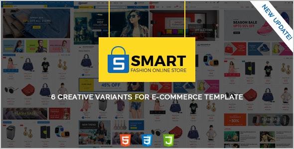 Smart -  Responsive Multi-Purpose HTML Template - Retail Site Templates