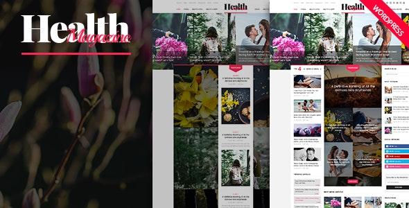 HealthMag - Multipurpose News/Magazine WordPress Theme - Blog / Magazine WordPress