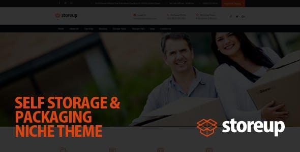 Storeup - Self Storage Business WordPress Theme