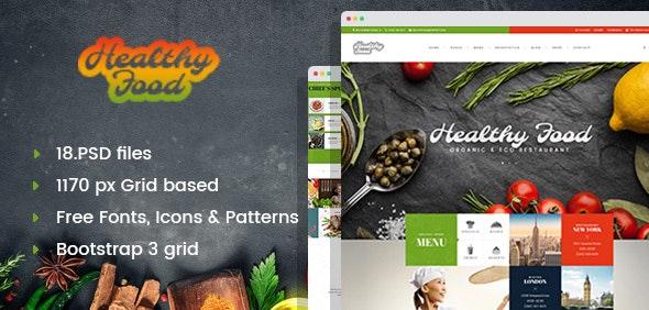 Healthy Food - Organic & Eco Restaurant - Restaurants & Cafes Entertainment