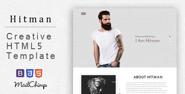 Hitman - Responsive Corporate, Business, Creative , Portfolio and  Blog Template