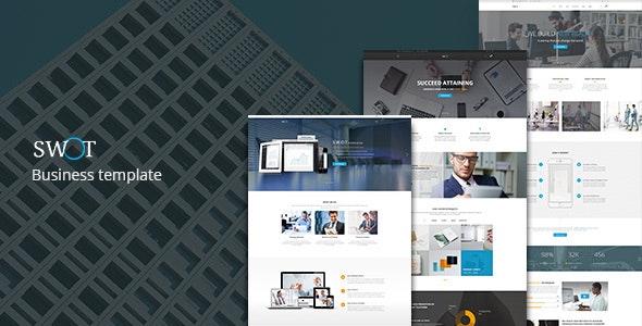 SWOT — Multi-Concept Business PSD Template - Business Corporate