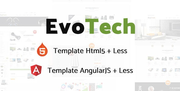 EvoTech - Electronics eCommerce HTML Template - Shopping Retail