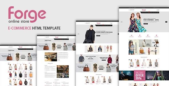 Forge - Fashion Store HTML Template - Fashion Retail