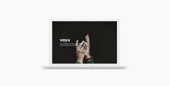 Vayu - Multipurpose Weebly Template - Weebly CMS Themes