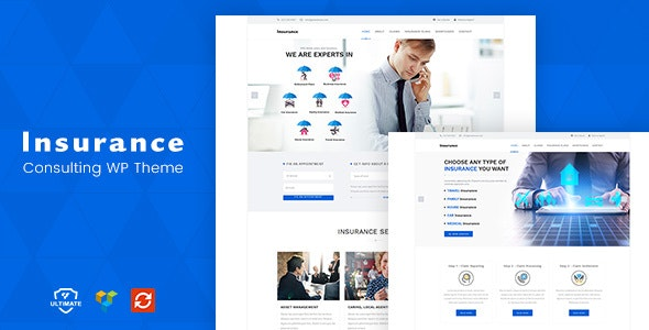 Insurance WordPress Theme by designthemes | ThemeForest
