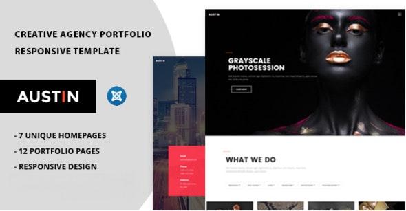 Austin - Portfolio HTML Template - Portfolio Creative