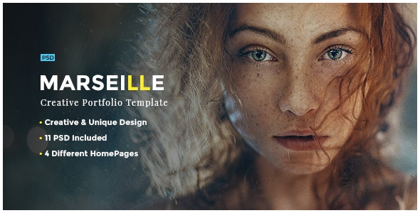 Marseille - Photography HTML Template - Photography Creative
