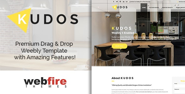 Kudos - Weebly Template - Weebly CMS Themes