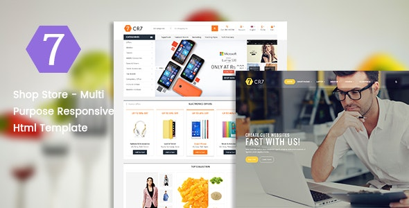 Shop Store - Multi Purpose Responsive Html Template - Retail Site Templates