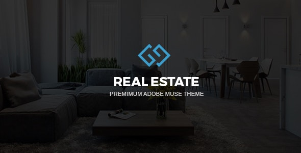 RealArea - Adobe Muse RealEstate Template - Corporate Muse Templates
