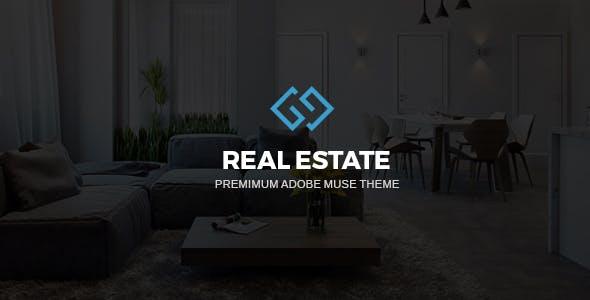 RealArea - Adobe Muse RealEstate Template