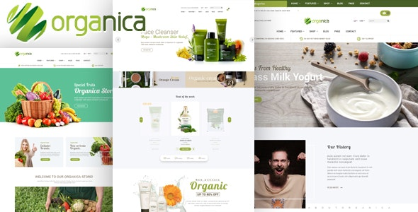 Organica - Cosmetic, Food, Organic, Beauty Shopify Theme - Sections Ready - Health & Beauty Shopify