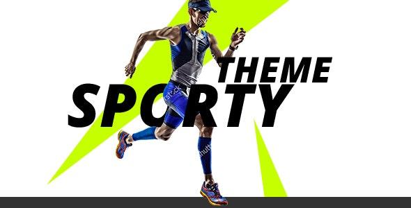 Sporty theme - responsive theme for biking, swimming and triathlon - Shopping Retail