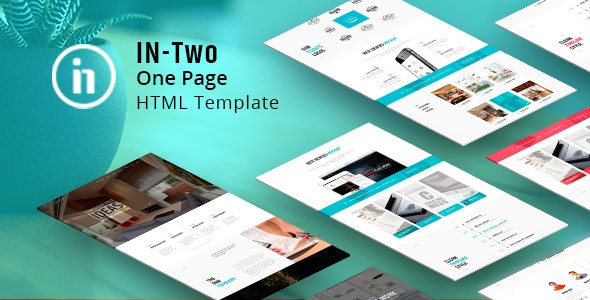 IN-Two One Page - Multipurpose - Corporate Site Templates