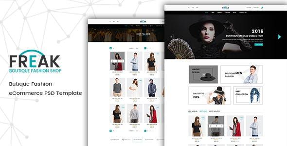 Freak - Fashion HTML Template