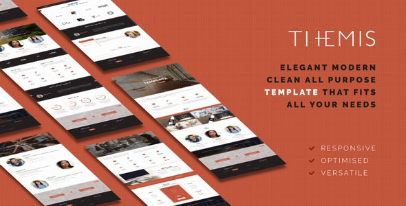 THEMIS - Responsive & Optimized HTML5 template - Site Templates