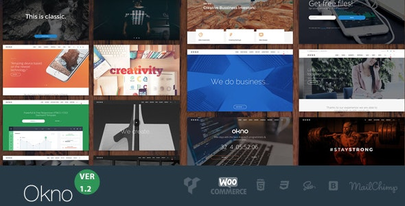 OKNO - All in One Multipurpose WordPress Theme - Business Corporate
