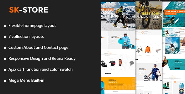 SK - Store Responsive Shopify Theme - Health & Beauty Shopify