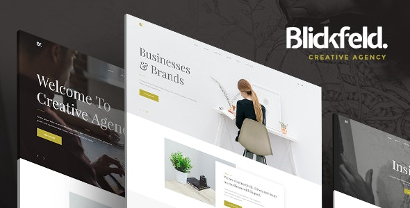 Blickfeld - Creative Agency Muse Template - Creative Muse Templates