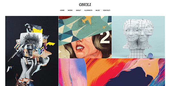 Portfolio WordPress Theme - Gnoli - Portfolio Creative
